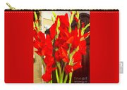 Red Glads Blooming Carry-all Pouch