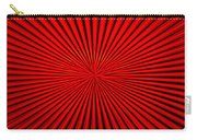Red Glass Abstract 1 Carry-all Pouch
