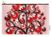 Red Glass Ornaments Carry-all Pouch