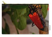 Red Glowing Beetle Carry-all Pouch