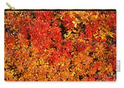 Red-golden Alpine Shrubs Carry-all Pouch