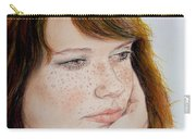 Red Hair And Freckled IIi Carry-all Pouch