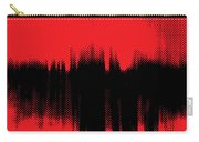 Red Halftone 2 Carry-all Pouch