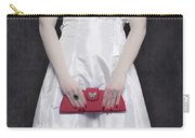 Red Handbag Carry-all Pouch by Joana Kruse