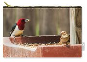 Red-headed Woodpecker Feeding Carry-all Pouch