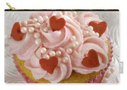 Valentine Cupcakes  Carry-all Pouch