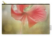 Red Hibiscus Carry-all Pouch by David and Carol Kelly
