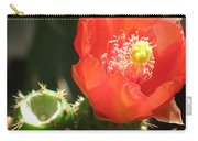 Hot Red Cactus Carry-all Pouch