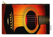 Red Hot Guitar Carry-all Pouch