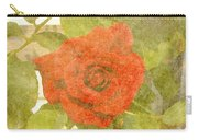 Red Hot Rose Carry-all Pouch