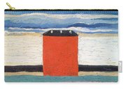 Red House, 1932 Oil On Canvas Carry-all Pouch