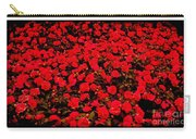 Red Impatiens Flowers Carry-all Pouch