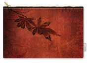 Red Japanese Maple On Red Carry-all Pouch