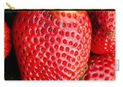 Red Juicy Delicious California Strawberry Carry-all Pouch