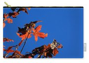 Red Leaves Blue Sky Carry-all Pouch