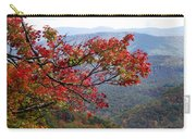 Red Leaves In The Blueridge Carry-all Pouch