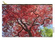 Red Leaves On Tree Carry-all Pouch