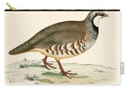 Red Legged Partridge Carry-all Pouch
