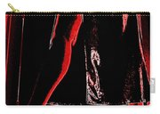 Red Light Black Dress Carry-all Pouch