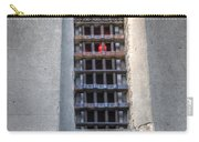 Red Light Jail Window Carry-all Pouch