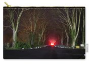 Red Light, Smoke And Flames Glowing Carry-all Pouch
