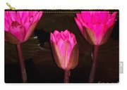 Red Lilies At Night Carry-all Pouch