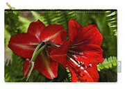 Red Lilies For Spring Carry-all Pouch