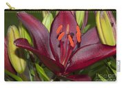 Red Lily 2 Carry-all Pouch