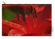 Red Lily Close Carry-all Pouch