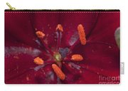 Red Lily Macro Carry-all Pouch