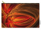 Red Luminescence-fractal Art Carry-all Pouch