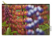 Red Lupinus Carry-all Pouch
