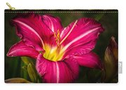 Red Magic Daylily Carry-all Pouch