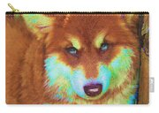 Red Malamute Carry-all Pouch