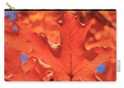 Peak Color Maple Leaves Carry-all Pouch