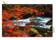 Red Maple Stream  Carry-all Pouch