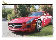 Red Mercedes Benz Carry-all Pouch