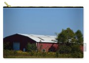 Red Metal Barn Carry-all Pouch