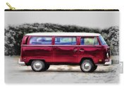 Red Microbus Carry-all Pouch