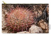 Red Mohave Barrel Cactus Carry-all Pouch