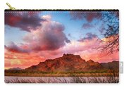 Red Mountain Sunset Carry-all Pouch