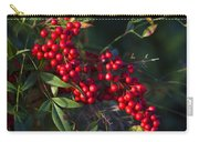 Red Nandina Berries - The Heavenly Bamboo Carry-all Pouch