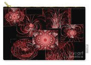 Red Neon Collage Carry-all Pouch