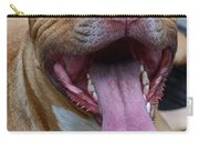 Red Nose Pit Bull Terrier Carry-all Pouch