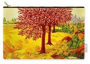 Red Oaks  Pop Art Carry-all Pouch