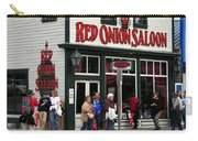 Red Onion Saloon Carry-all Pouch