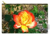 Red Orange And Yellow Rose Carry-all Pouch