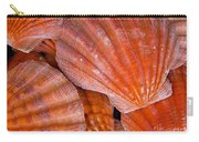 Red Orange Sea Shells Carry-all Pouch