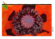 Red Oriental Poppy Carry-all Pouch