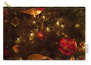 Red Ornament And Gold Ribbon Carry-all Pouch